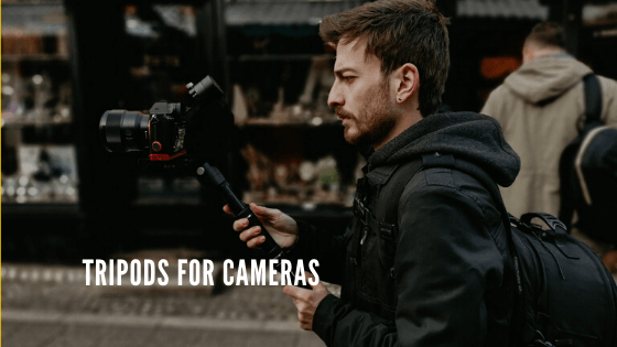 Best Tripods for Cameras of 2020 [Affordable+Reliable]